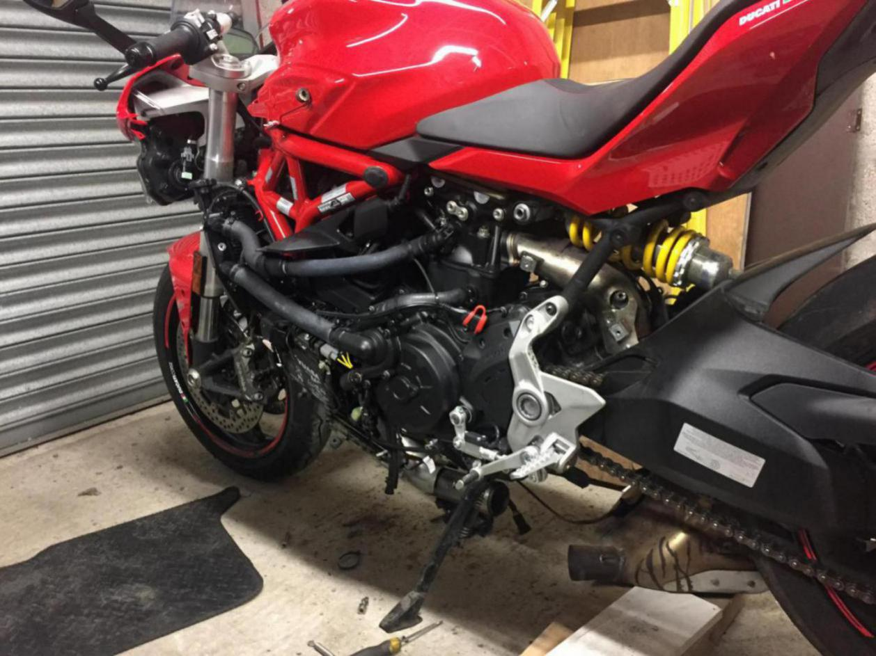 New QD exhaust option - Page 22 - Ducati Supersport 939 Forum