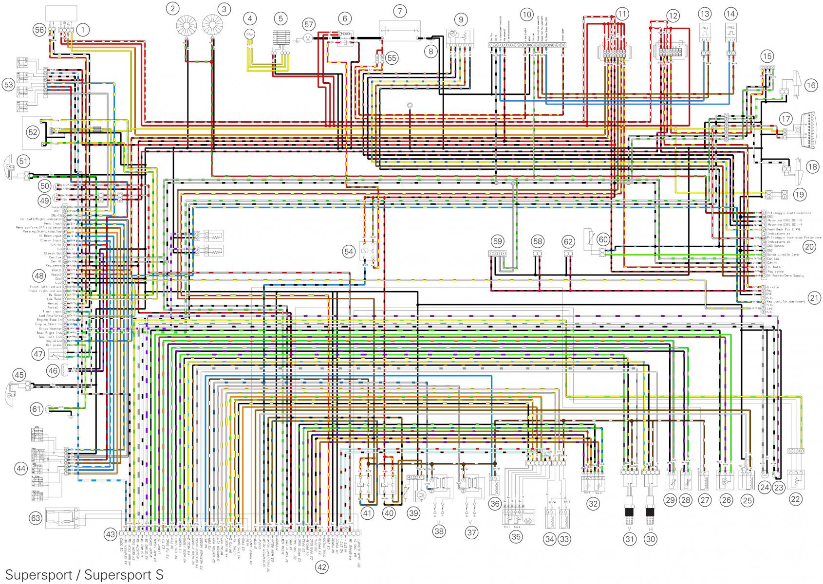 ducati ignition wiring diagram colour wiring diagram ducati supersport 939 forum  ducati supersport 939